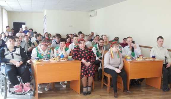 У територіальному центрі провели святковий захід для осіб з інвалідністю