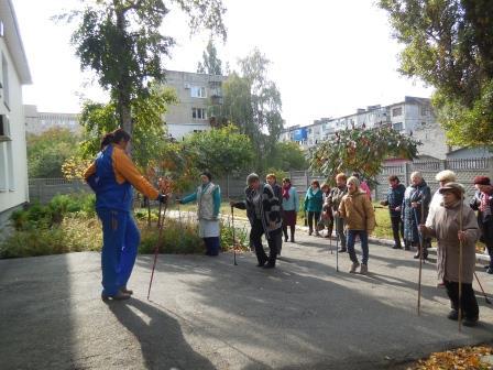 «Скандинавська ходьба» уже запроваджена у територіальному центрі