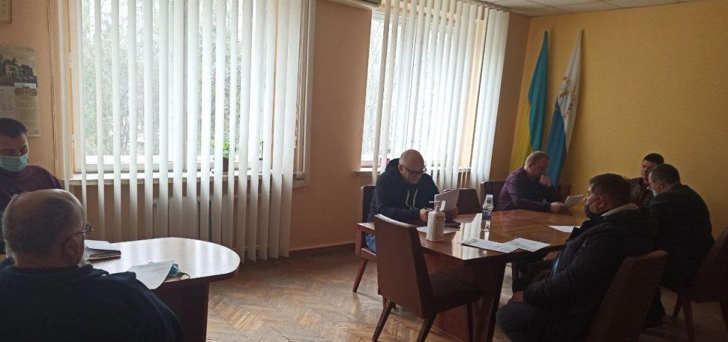Засідання постійної депутатської комісії з питань регламенту, депутатської діяльності, етики,  зв'язків з громадськими формуваннями та політичними партіями, гласності діяльності ради.
